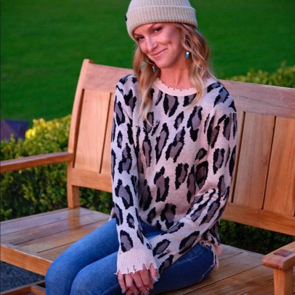 2e068db5638c Fate Sweaters   Animal Print Sweater   Poshmark